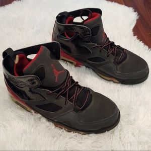 Nike Air Jordan Flight Club 91 Red and Black